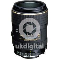 Tokina AT-X 100mm F2.8 PRO FX Macro lens - NIKON