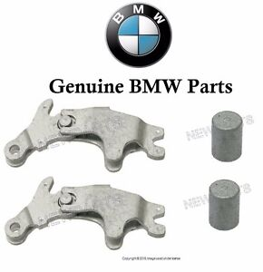 For BMW 74-03 Parking Brake Actuators+Pins x2 GENUINE Expanding Lock Handbrake