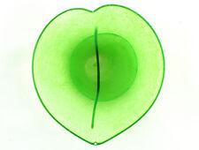 A Kosta Boda green heart dish by Gunnel Sahlin. Swedish art glass.
