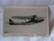 VALENTINE'S AIRCRAFT RECONGNITION CARD DORNIER DO 18K