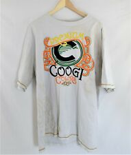 COOGI White Short Sleeve 4XL T-shirt Embroidered and Patched