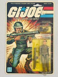 G.I. GI Joe ZAP straight-arm 1982 MINT-ON-CARD MOC 11-back