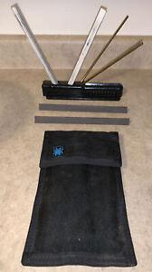 Spyderco Tri-Angle Sharpmaker With Extra Ultra fine Stones