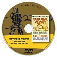 National Velvet 1944 DVD Classic Drama Movie Film Mickey Rooney Elizabeth Taylor