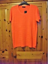 Ladies Top/Jumper Short Sleeves size 14. BNWT. Round Neck. Side Splits.