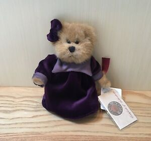 Vintage Russ Berrie Collection Megan Bear With Tags