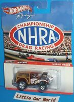 HOT WHEELS Racing Championship NHRA Drag Racing Morris Wagon Gasser Real Riders
