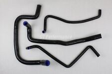 Kit 4 durites silicone Renault R12 Gordini - Manguera hoses durite hose -  NOIR