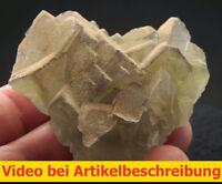 6109 Fluorite Fluorit 5*5*4 cm Grube Hermine 1980 Wölsendorf Bavaria BRD  VIDEO