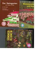 Fritz Hertel - Der Steingarten Blumenzwiebeln und Knollen Sommerblumen
