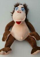 "Orangutan BIG Super Soft Plush Dog Toy Grunts And Has 5 Squeakers ~ 17"" Tall"
