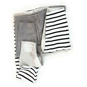 Hanes Ultimate Baby Flexy 3Pack Knit Pants 3 Colors Soft Comfortable 6-12 Months