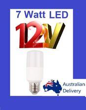 7w 12V 12volt DC LED E27 6000K FOR Bollards Caravan Lighting LAMPS Bulbs RRP$25