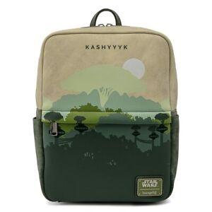 Loungefly Star Wars Lands Kashyyyk Square Mini Backpack