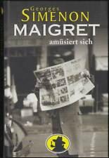 Maigret amüsiert sich: Band 16 Hardcover (Weltbild, Sammleredition) Z 1+