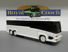 "Reduced - Untrimmed Mci ""G"" 10"" Plastic Bank Bus 1:50 Scale w/Generic White Box"