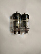 MATCHED PAIR  ECC83 / 12AX7 RFT DOUBLE TRIODE NOS NEW TUBES MADE IN GERMANY