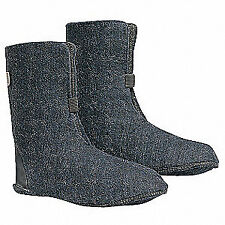 LACROSSE Wool Felt Iceman Boot Liner,Size 11,10 in.H,Blk,PR, 904000, Black