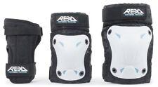 Rekd Recreational Triple Pad Set (Knee/Elbow/Wrist) - White