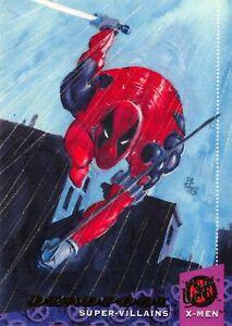 DEADPOOL / X-Men Fleer Ultra 1994 BASE Trading Card #57