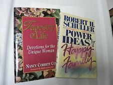 The Tapestry of Life Book by N Cole & Power Ideas for a Happy Family R Schuller