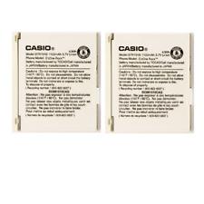 KIT 2x OEM Casio BTR731B 1150 mAh Replacement Battery for GzOne Rock
