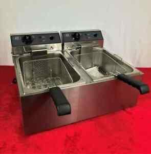 ACE 17L Double Fryer EN4