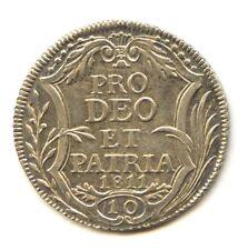 Suisse Canton de Zurich Napoleonide 10 Schillings 1811 B KM 182 Rare