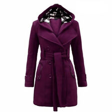 Women's Warm Winter Hooded Long Jacket Outwear Parka Tops Overcoat Pea Coat Plus