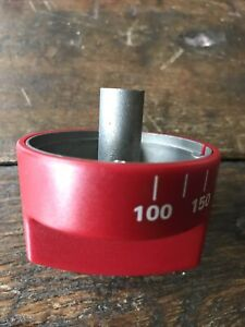 WOLF RANGE Oven KNOB Red Gas Range Off 100 - 450 NEW Open Box