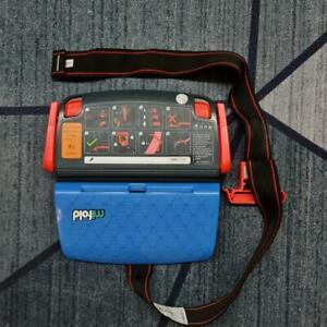 New Open Box mifold Grab-and-Go Booster Car Seat, original Denim Blue