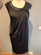 Max & Co Black Shift Dress Size M