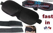 Sleeping Mask Sleep Travel 3D blind eye Cover cotton Blindfold Soft Nap Padded