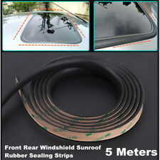 5m Seal Strip Trim For Car Front Rear Windshield Sunroof Weatherstrip Rubber(Fits: Toyota Matrix)