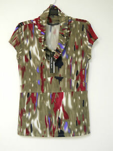 Antonio Melani Size Small Cowl Top New Womens Blouse MSRP$89