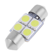 4pcs 31mm 5050 SMD 4-LED Festoon Dome Light Bulb White DE3175 DE3022 BT