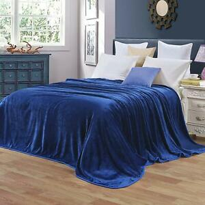 Mingzex Ultra Soft Fleece Blanket, King / Queen / Twin, Different colors or size