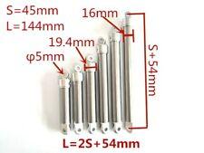 New listing Mini-fuela dual acting oil cylinder hydraulic Diy Rc excavator car 45mm stroke