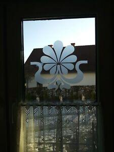 Glastattoo, Fenstertattoo, Fensteraufkleber aus hochwertiger Glasdekorfolie