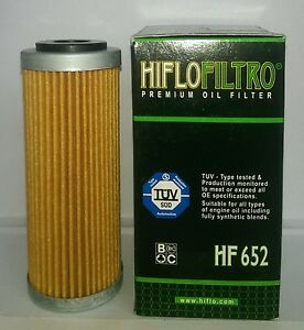 KTM 450 Xc-F / Xc-Wr (2008 À 2010) Hiflofiltro Huile Filtre (HF652)