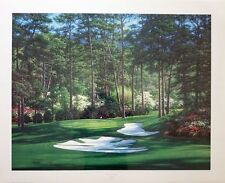 """Larry Dyke """"The Tenth at Augusta"""" LMT ED S/N (1058/1500) COA"""