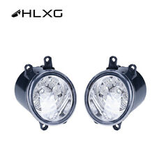 Pair 9 LED Fog Light Front Lamp For Toyota Camry 2007-2013 Replacement Driving
