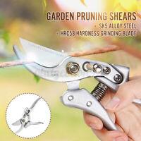Pruning Shears Secateurs Fruit Tree Scissors Bonsai Branch Pruning Tool US