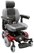 CTM HS-2850 Power Wheelchair Mid Wheel Drive Wheel Chair with Batteries