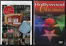 A Classic Christmas From the Ed Sullivan Show (DVD) & Hollywood Christmas (DVD)