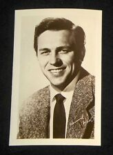 Howard Keel 1940's 1950's Actor's Penny Arcade Photo Card