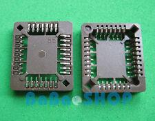 4pcs PLCC32 32 Pin 32Pin SMD IC Socket Adapter PLCC Converter Brand New