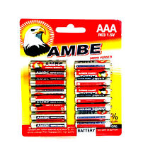 32x R6 1.5V Micro AAA BATTERIEN LR6 R6P Einweg Batterie  Carbon R03 Battery Tv