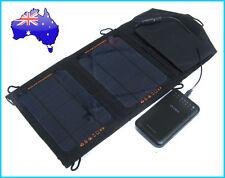 7W Portable Solar Panel + 11200mAh Dual USB Power Bank External Mobile Battery