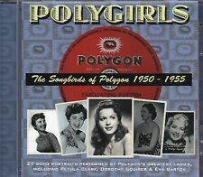 Songbirds Of Polygon CD (Petula Clark/Eva Bartok/Dorothy Squires/Kathie Kay)